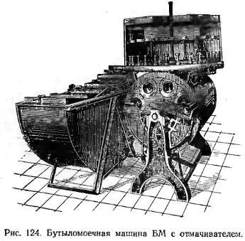 бутиломоєчная машина БМ з відмочувальником