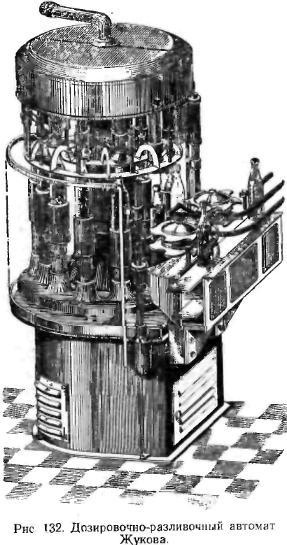 Дозировочно-разливочный аппарат Жукова