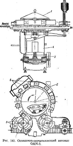 Осмолочно-опечатывающий автомат ОАМ-3