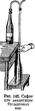 Сифон для деконтации бутылочных вин